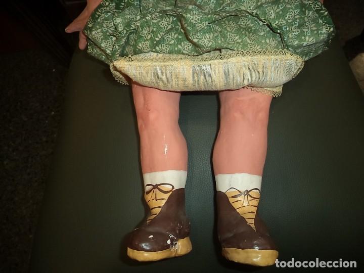 Muñeca española clasica: MUÑECA DE 65 CMS. CARTON PIEDRA - Foto 4 - 191576287