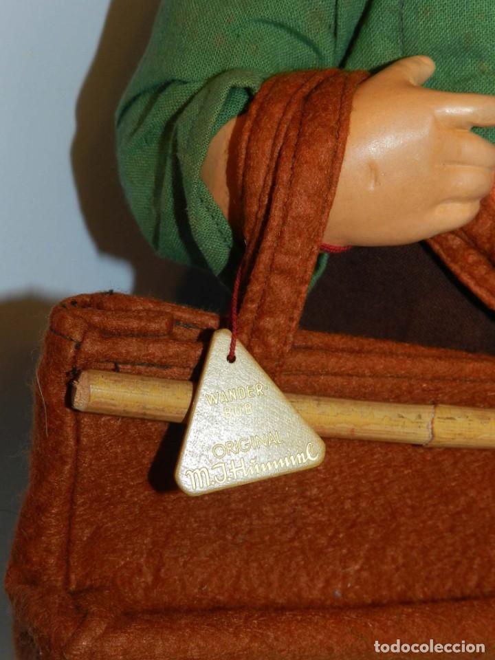 Muñeca española clasica: Antiguo muñeco M. J Hummnl, años 40. con etiqueta. Ojo y pelo decorado, la cabeza por detras tiene u - Foto 3 - 191633638