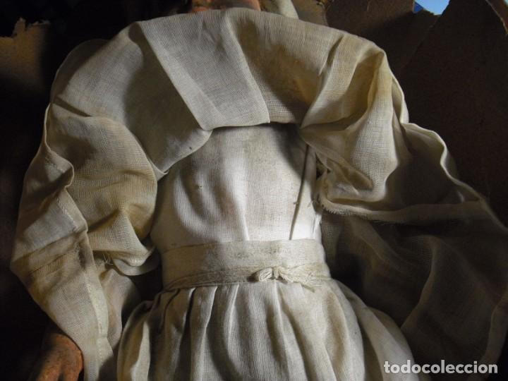 Muñeca española clasica: Salida hoy de un antiguo almacen allì ha estado desde los años 40,,jamàs tocada,totalmente original, - Foto 15 - 147185610