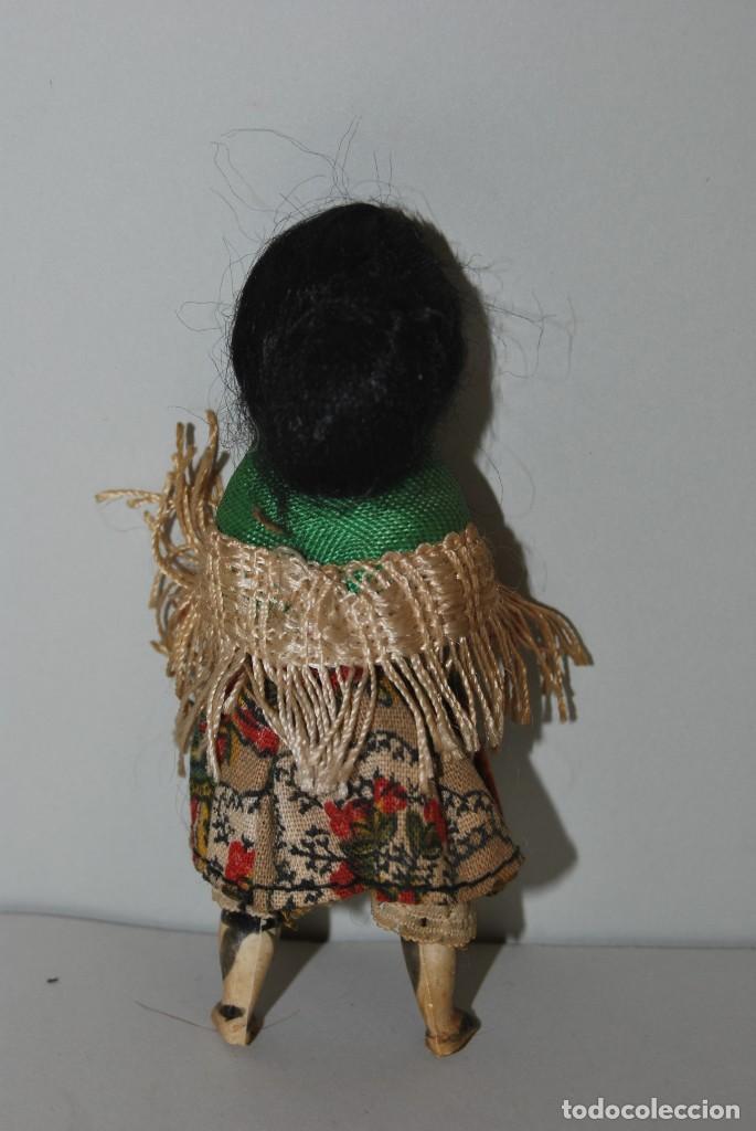 Muñeca española clasica: MUÑECA DE CELULOIDE - VESTIDO POPULAR - AÑOS 50 - Foto 3 - 193781040
