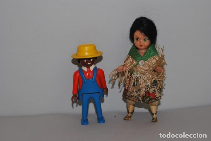 Muñeca española clasica: MUÑECA DE CELULOIDE - VESTIDO POPULAR - AÑOS 50 - Foto 5 - 193781040