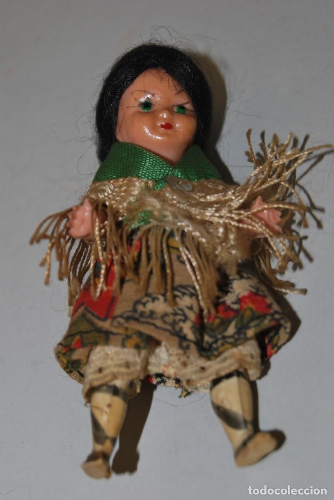 Muñeca española clasica: MUÑECA DE CELULOIDE - VESTIDO POPULAR - AÑOS 50 - Foto 6 - 193781040