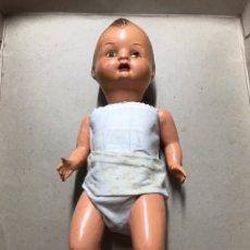 Muñeca española clasica: MUÑECO ANTIGUO CARTÓN PIEDRA. Lote 194029357