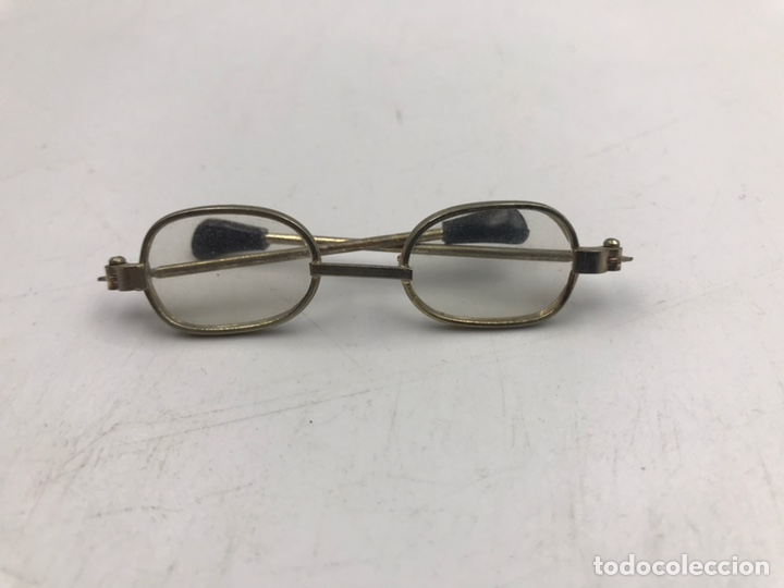 Muñeca española clasica: Gafas antiguas muñeca 7 cm - Foto 4 - 194082111