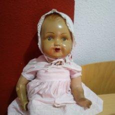 Muñeca española clasica: MUÑECA MUY ANTIGUA CARTÓN PIEDRA.. Lote 194187017
