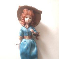 Muñeca española clasica: MUÑECA PORCELANA ANTIGUA. Lote 194195531
