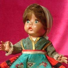 Muñeca española clasica: MUÑECA ÁNGELA AÑOS 50.. Lote 194324486
