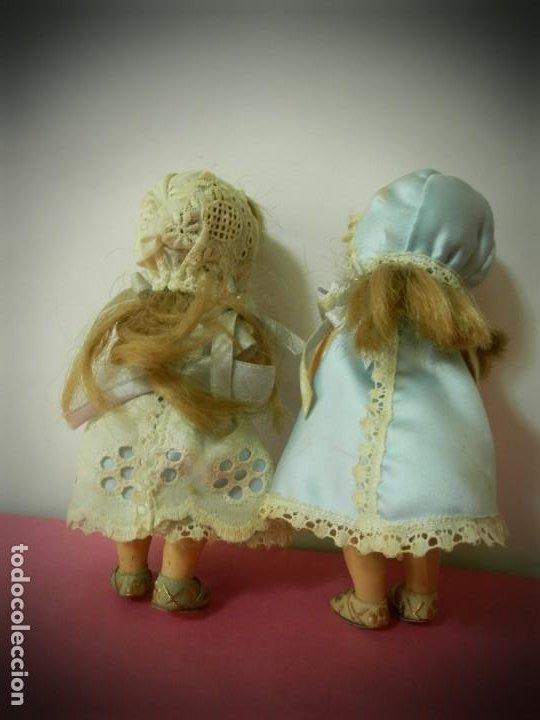 Muñeca española clasica: MUÑECAS MUÑEQUITAS DE CELULOIDE ANTIGUAS MARCA GV. VESTIDOS ORIGINALES.ARTICULADAS - Foto 6 - 194331214