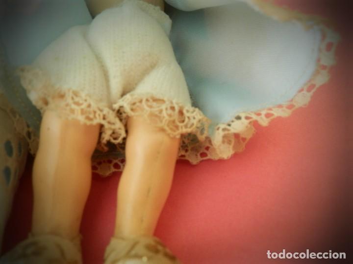 Muñeca española clasica: MUÑECAS MUÑEQUITAS DE CELULOIDE ANTIGUAS MARCA GV. VESTIDOS ORIGINALES.ARTICULADAS - Foto 7 - 194331214