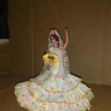 Muñeca española clasica: MUÑECA FLAMENCA 20 CM . Lote 194496255