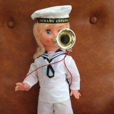 Muñeca española clasica: MUÑECA PRECIOSA ARMADA ESPAÑOLA, AÑOS 70. Lote 194597253