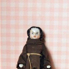 Muñeca española clasica: ANTIGUA FIGURA DE MONJE EN PORCELANA. Lote 194603588