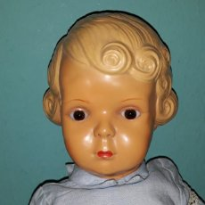 Muñeca española clasica: ANTIGUA MUÑECA DE CELULOIDE JC SA 35 AÑOS 50. Lote 194699508