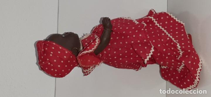 Muñeca española clasica: ANTIGUA MUÑECA NEGRA ESPAÑOLA DE TERRACOTA Y PAPEL MACHÉ AÑOS 40 / 50 ETNICA CUBANA - Foto 20 - 194748007
