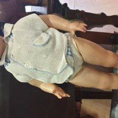 Muñeca española clasica: MUÑECA ANTIGUA CELULOIDE AÑOS 50 60. Lote 195068497