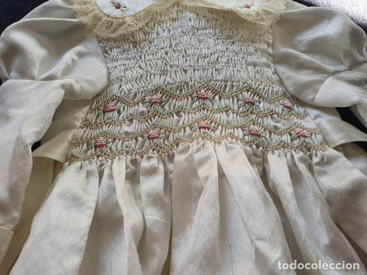 Muñeca española clasica: PRECIOSO VESTIDO DE MUÑECA GRANDE CON CALCETINES Y POLAINAS - Foto 3 - 195097090