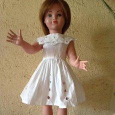 Muñeca española clasica: MUÑECA DE LOS AÑOS 50 - ¿PEGGY DE TYBER? MIDE 44 CM APROXIMADAMENTE. Lote 195150146