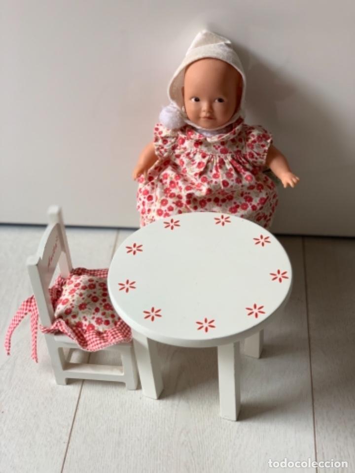 Muñeca española clasica: Muñeca Anita la Nina con mesa y sillas de madera - Foto 3 - 195276123