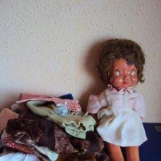 Muñeca española clasica: (JU-200292)MARI PEPA Y LOTE DE VESTIDOS. Lote 195317258