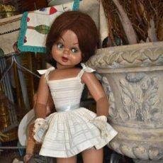 Muñeca española clasica: PRECIOSA MUÑECA GUENDOLIN DE FAMOSA AÑOS 50-60. Lote 195381152