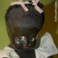 Muñeca española clasica: MUÑECA NEGRITA NOC OLOT. Lote 195414205