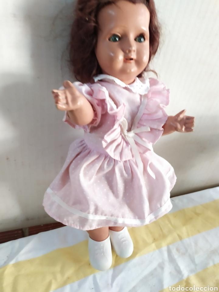 Muñeca española clasica: Antigua muñeca de composición - Foto 2 - 195476503