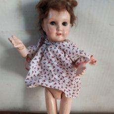 Muñeca española clasica: ANTIGUA MUÑECA ARTICULADA CARTÓN PIEDRA. Lote 195476808