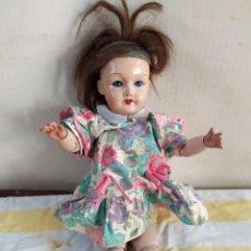 Muñeca española clasica: IMPORTANTE MUÑECA ARTICULADA CARTÓN PIEDRA. Lote 195476858