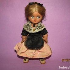 Muñeca española clasica: ANTIGUA MUÑECA LINDA PIRULA DE MUÑECAS DE ALBA CON TRAJE TÍPICO REGIONAL. Lote 195476902