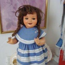 Muñeca española clasica: PRECIOSA MUÑECA ESPAÑOLA CAYETANA, AÑOS 40, PRIMERA ÉPOCA. Lote 195482775