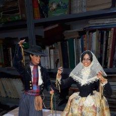 Muñeca española clasica: PAREJA MUÑECOS MUÑECAS MALLORQUÍN MALLORQUINA MUÑECAS MARIN CON ETIQUETA. Lote 196259157