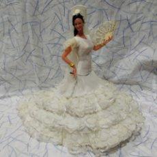 Muñeca española clasica: SEVILLANA MARIN CHICLANA. Lote 196283476
