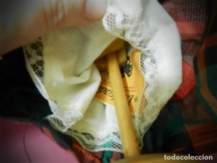 Muñeca española clasica: MUÑECAS DE MADERA ANTIGUAS PINTADAS A MANO MARCA DAILRADE - Foto 6 - 196742446