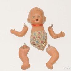 Muñeca española clasica: MUÑECA EN TERRACOTA - CON ARTICULACIONES SUELTAS. Lote 196798001