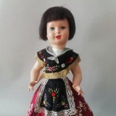 Muñeca española clasica: PRECIOSA MUÑECA LOLITA ,AÑOS 50 ,CON VESTIDO ORIGINAL. Lote 85084548