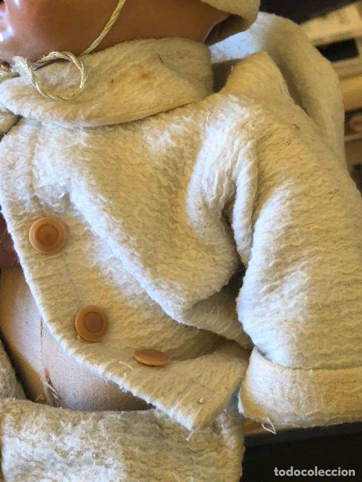 Muñeca española clasica: Bonita muñeca antigua, cabeza de porcelana, cuerpo de trapo - Foto 3 - 197300423