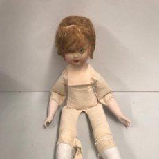 Muñeca española clasica: ANTIGUA MUÑECA CARTÓN PIEDRA EN PERFECTO ESTADO. Lote 197541932
