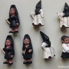 Muñeca española clasica: MUÑECOS ALBOROX. BARRO. TERRACOTA. SEMANA SANTA. Lote 197580564