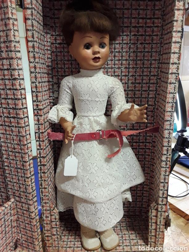 Muñeca española clasica: Antigua muñeca española de celuloide de 46cm - Foto 2 - 236429135