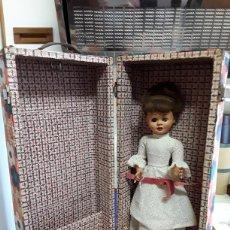 Muñeca española clasica: ANTIGUA MUÑECA ESPAÑOLA DE CELULOIDE DE 46CM. Lote 236429135