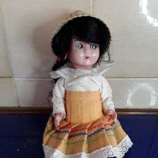 Muñeca española clasica: ANTIGUA MUÑECA DE CELULOIDE AÑOS 50. Lote 199287206