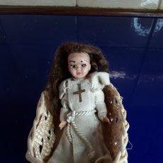 Muñeca española clasica: ANTIGUA MUÑECA DE COMUNIÓN,DE CELULOIDE AÑOS 50. Lote 199287457