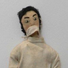 Muñeca española clasica: MUÑECO DE LOS AÑOS 40, MEDICO - REALIZADA EN FIELTRO, MUY INTERESANTE, VER FOTOS, MIDE 30 CM. Lote 199329605