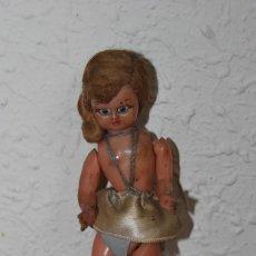Muñeca española clasica: MUÑECA DE CELULOIDE - PELO DE MOHAIR - OJOS DURMIENTES - AÑOS 20-30. Lote 200742510