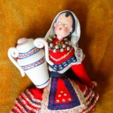 Muñeca española clasica: MUÑECA REGIONAL NISTIS. Lote 201100628