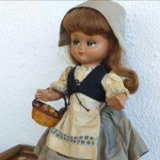 Muñeca española clasica: PRECIOSA MUÑECA ANTIGUA LINDA PIRULA DE HOLANDESA. Lote 201747701