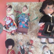 Muñeca española clasica: LOTE 13 MUÑECOS ANTIGUOS. Lote 202903872