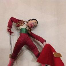 Muñeca española clasica: TORERO DE TRAPO ROLDAN LAYNA. Lote 203215430