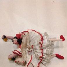 Muñeca española clasica: MUÑECA DE TRAPO. FLAMENCA ROLDAN LAYNA. Lote 203218025
