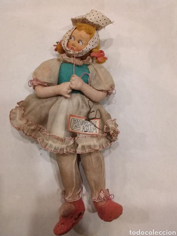MUÑECA DE TRAPO KATIA (Juguetes - Otras Muñecas Españolas Clásicas (Hasta 1.960))